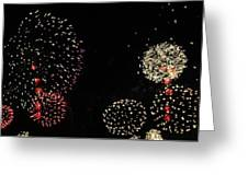 Firework Lifecycle 3 Greeting Card