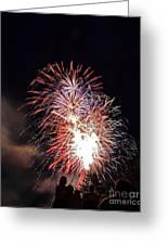 Fireworks 3 Greeting Card
