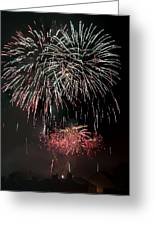 Fireworks 6 Greeting Card