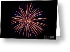Fireworks 7 Greeting Card