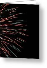 Fireworks Abstract 1 Greeting Card