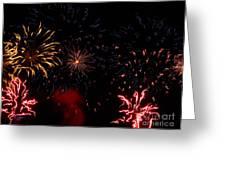 Fireworks At Oshkosh Airventure 2012. 01 Greeting Card