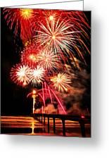 Fireworks Away Greeting Card