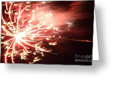 Fireworks In Texas 2 Greeting Card