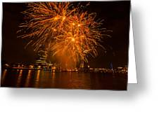 Fireworks London Greeting Card