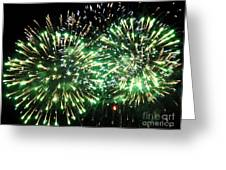 Fireworks Number 4 Greeting Card