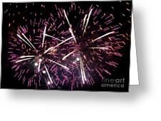 Fireworks Number 5 Greeting Card