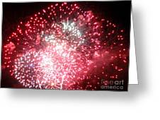 Fireworks Number 7 Greeting Card