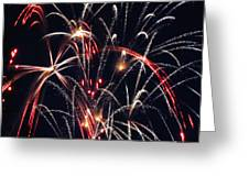 Fireworks Two Greeting Card