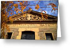 First National Bank Greeting Card