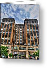 First Niagara Building With Takis Greeting Card
