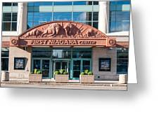 First Niagara Center Greeting Card