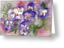First Sign Of Spring Greeting Card