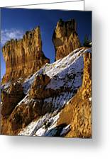 First Snow At Bryce Canyon Greeting Card