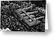 First World War Bullets Greeting Card