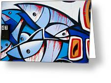 Fish For 247 Greeting Card