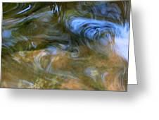 Fish In Rippling Water Greeting Card