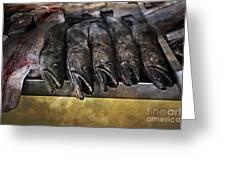 Fish Market Seville Metropol Parasol Greeting Card