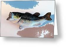 Fish Mount Set 07 B Greeting Card