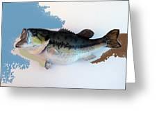 Fish Mount Set 07 C Greeting Card