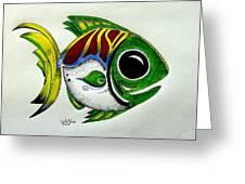 Fish Study 2 Greeting Card