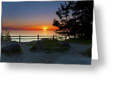 Fisherman's Island State Park Greeting Card