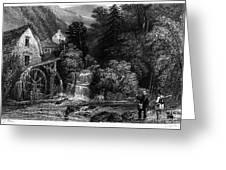 Fishermen, 19th Century Greeting Card by Granger