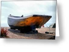 Fishing Boat - Brighton Beach Greeting Card