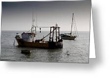 Fishing Boat Essex Greeting Card