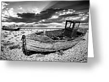 Fishing Boat Graveyard Greeting Card
