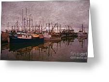 Fishing Boats Of Steveston-ca Greeting Card