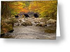 Fishing Bridge I Greeting Card by Charles Warren
