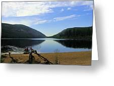 Fishing Conkle Lake Greeting Card