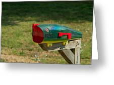 Fishing Lure Mailbox 1 Greeting Card