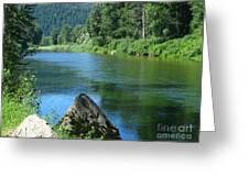 Fishing Spot 4 Greeting Card