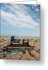 Fishing Winches Greeting Card
