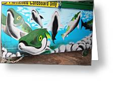 Fishy Dumpster Greeting Card