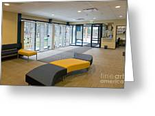 Fitness Center Lobby Greeting Card by Jaak Nilson
