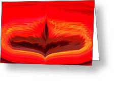 Flame 3 Greeting Card