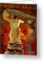 Flamenco Series No 2 Greeting Card