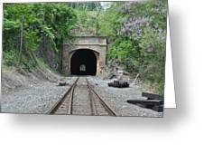 Flatrock Tunnel Greeting Card