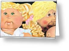 Flea Market Toy Series 2 Greeting Card