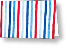 Fleece Background Greeting Card