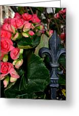 Fleur De Lis Greeting Card