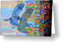 Flight Into Unconsiousness Greeting Card