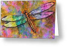Flight Of The Dragonfly Greeting Card