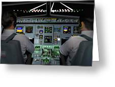 Flight Simulator Greeting Card