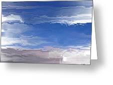 Flight Under Glass Greeting Card