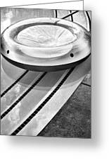 Float Bw Palm Springs Greeting Card