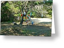 Float Tree Greeting Card